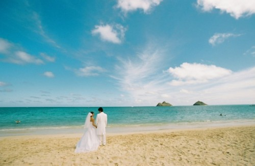 天国の海ラニカイビーチ